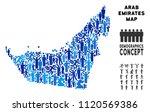 vector population arab emirates ... | Shutterstock .eps vector #1120569386