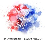happy 4th of july  abstract... | Shutterstock .eps vector #1120570670