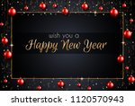 2019 happy new year background... | Shutterstock .eps vector #1120570943