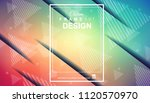 abstract geometric colorful... | Shutterstock .eps vector #1120570970