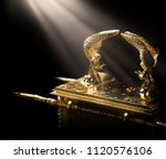 Ark Of The Covenant On A Dark...
