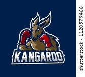 Kangaroo Esport Gaming Mascot...