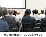 japanese seminar image | Shutterstock . vector #1120579523