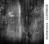 old black wood texture  for... | Shutterstock . vector #112058018