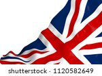 waving flag of the great... | Shutterstock . vector #1120582649
