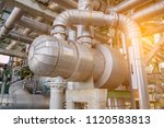 heat exchanger set   complex... | Shutterstock . vector #1120583813