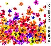 vector seamless border with... | Shutterstock .eps vector #1120588700