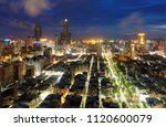 aerial view of kaohsiung city...   Shutterstock . vector #1120600079