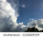 Blue Sky White Clouds Sunny...