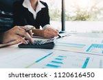 startup business team... | Shutterstock . vector #1120616450