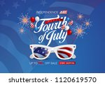 independence day usa sale... | Shutterstock .eps vector #1120619570