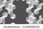 vector abstract boxes...   Shutterstock .eps vector #1120658120