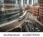 chicago  il   june 6th 2018  a... | Shutterstock . vector #1120674410