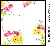 vintage delicate invitation... | Shutterstock . vector #1120690796