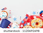 holidays 4th july background... | Shutterstock . vector #1120692698