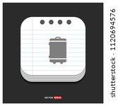 bag icon   free vector icon