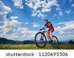 athletic professional sportsman ... | Shutterstock . vector #1120695506