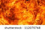 blaze fire flame texture... | Shutterstock . vector #112070768