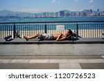 sheung wan  hong kong   29 may... | Shutterstock . vector #1120726523