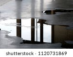 wet floor background | Shutterstock . vector #1120731869