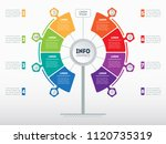 web template of service tree ... | Shutterstock .eps vector #1120735319