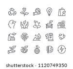 editable simple line stroke... | Shutterstock .eps vector #1120749350