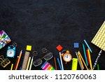 school supplies. student... | Shutterstock . vector #1120760063