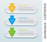 business infographics template...   Shutterstock .eps vector #1120762310