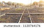 in africa ethiopia the railway...   Shutterstock . vector #1120764176