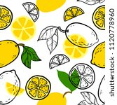 beautiful yellow  black and... | Shutterstock .eps vector #1120778960