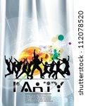 party illustration | Shutterstock .eps vector #112078520