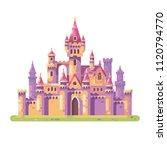 fairy tale princess castle....   Shutterstock .eps vector #1120794770