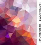 vector background from polygons ...   Shutterstock .eps vector #1120795106