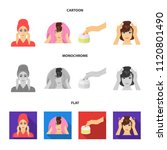 cosmetic  salon  hygiene  and...   Shutterstock .eps vector #1120801490