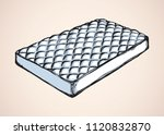 neat snug thick cotton spring... | Shutterstock .eps vector #1120832870