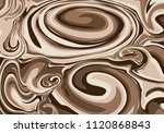 abstract coffee foil background.... | Shutterstock .eps vector #1120868843
