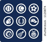 sport  p.2 . to see all icons ... | Shutterstock .eps vector #1120874
