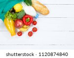 purchase food purchases fruits... | Shutterstock . vector #1120874840