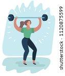 vector cartoon illustration of...   Shutterstock .eps vector #1120875599