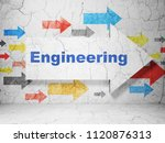 science concept   arrow with...   Shutterstock . vector #1120876313