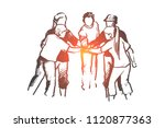 community  teamwork  volunteer... | Shutterstock .eps vector #1120877363