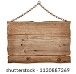old signs banner  | Shutterstock . vector #1120887269