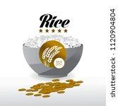 elegant master gold rice great... | Shutterstock .eps vector #1120904804
