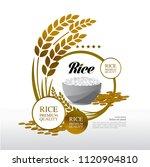 elegant master gold rice great... | Shutterstock .eps vector #1120904810