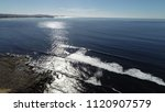 Aerial View Of The Coast At...