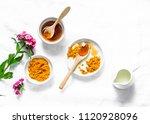 Turmeric  Honey  Coconut Milk...