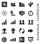 set of vector isolated black... | Shutterstock .eps vector #1120936118