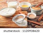 ingredients for cooking... | Shutterstock . vector #1120938620