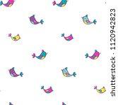 abstract seamless girlish... | Shutterstock .eps vector #1120942823