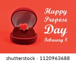happy propose day illustration. ... | Shutterstock . vector #1120963688